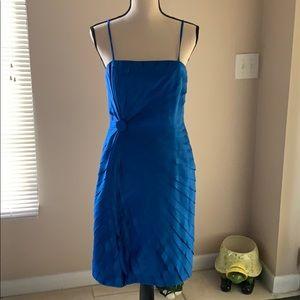Calvin Klein blue layered dress